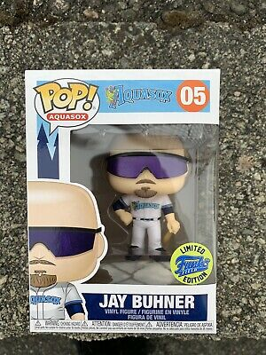 Jay Buhner Funko Pop! #5 2019 Everett Aquasox Seattle Mariners SGA 8/16/19 NIB