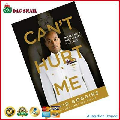 Cant Hurt Me: Master Your Mind And Defy The Odds (Paperback) FREE FAST POSTAGE