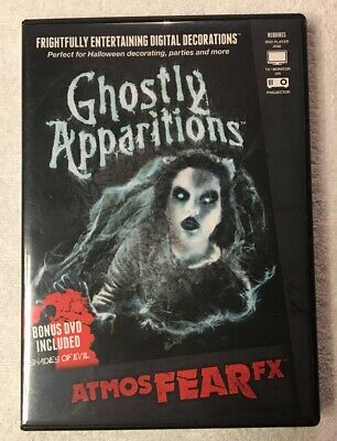 AtmosFEARfx Ghostly Apparitions Digital Decorations NO Bonus DVD,HAUNTED HOUSE