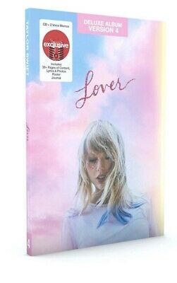 Taylor Swift Target Exclusive Deluxe Lover Cd Poster Journal Lyrics Memos Photos