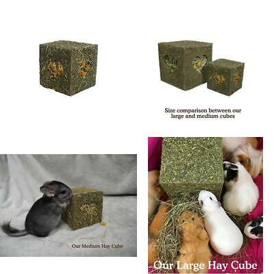 NEW Naturals I Love Hay Forage Cube Treat And Toy For Small Animals Medium GIFT