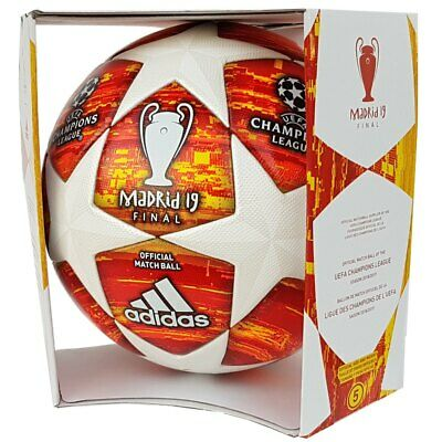 Adidas Champions League Finale Madrid 2019 Football Omb Matchball Red [DN8685]