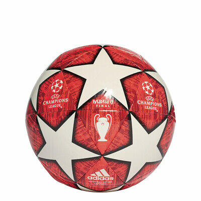 Adidas Champions League Finale Madrid Capitano Football White/Red [DN8674]