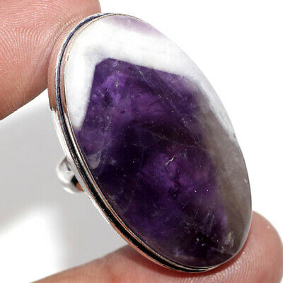 E22865 Amethyst Lace 925 Sterling Silver Plated Ring Us 7