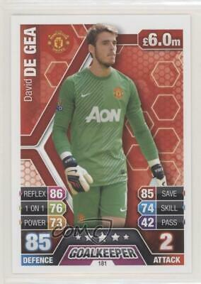 Manchester United Match Attax 2017//18 Premier League #200 David De Gea