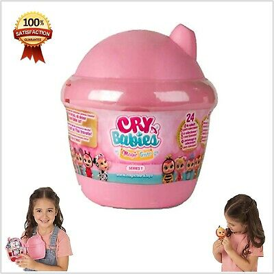 Cry Babies Magic Tears Bottle House Surprise Golden Accessories Mystery Capsule