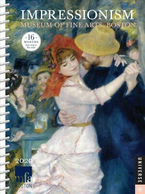 Impressionism 2019-2020 Diary Planner 9780789335876 | Brand New
