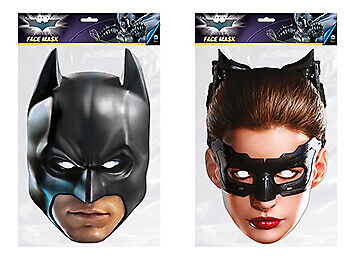 Batman and Catwoman The Dark Knight Face Mask