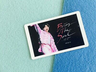 Bangtan boys BTS Bring the Soul Movie official photocard ticket Jungkook
