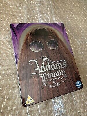 The Addams Family (Blu-ray) - Steelbook Edition - NEW & SEALED