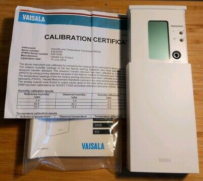 NEW Vaisala HMW92 Humidity & Temperature Transmitter with Cert **Fast Shipping**