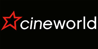 Codes for 2x Cineworld cinema tickets - 2D films - valid on SUNDAY only