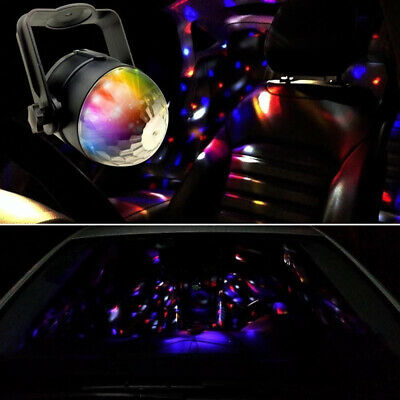 Flashes USB Sound Active Projector Stage Light DJ Club Disco RGB KTV LED Lamp