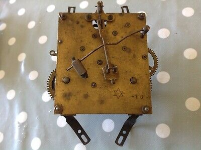 Antique Clock Movement Junghans Chiming EX CLOCKMAKERS Spare Parts 8x9cm