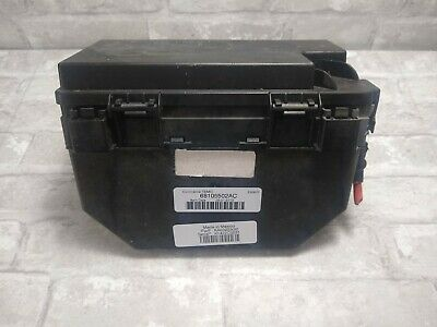2012 Jeep Liberty Tipm Integrated Power Module Fuse Box Relay 68105502Ac