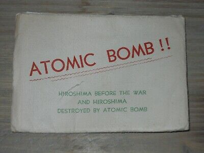 vintage ww 2 photo pack from atomic bomb drop japan , orig. envelope , history *