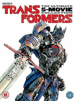 Transformers: 5-Movie Collection New DVD Box Set / Free Delivery