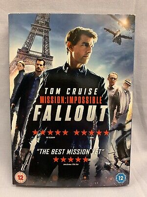 Mission Impossible Fallout DVD Brand New & Sealed