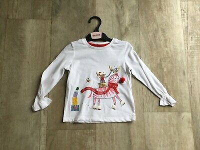 Marks & Spencer Baby Girls Size 18/24 Months Christmas/XMAS  Top - Brand New