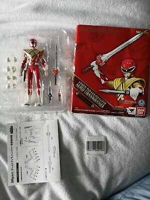 ZYURANGER POWER RANGERS SH Figuarts Red Ranger Armored Geki Jason