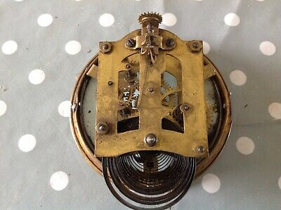 Antique Ansonia Clock Movement 6.5x8.5cm Plates 120mm Diameter Untested