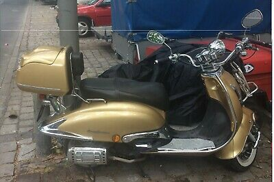 Motorroller Easy Cruiser Chromedition Gold