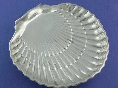 """Sterling GORHAM 6"""" footed Clam / Sea Shell Dish ~no mono"""