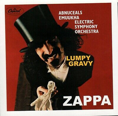 "Frank Zappa ""Lumpy Gravy and Elsewhere"" CD 2002  NM"