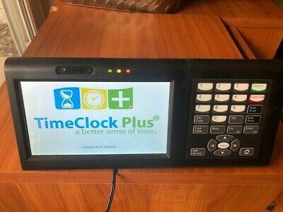 DATA MANGEMENT TIMECLOCK PLUS BUSINESS OFFICE TIME CLOCK RDT400 With Keypad