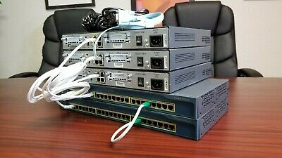CISCO CCENT CCNA Lab Economy 1* Star 1x Router 1x Switch