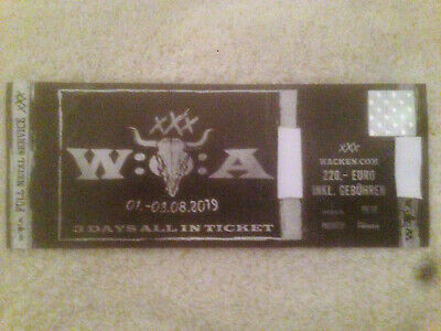 Wacken 2019 Ticket Festival