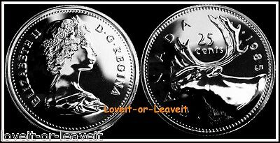 1985 CANADA SPECIMEN 6 Coin Set Royal Canadian Mint With