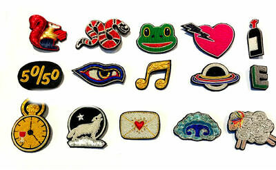 Hand Embroidered Color Wires Fashion Brooches With Safety Pin Cp Made Hi Quality