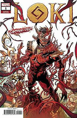 Loki #1 2019 MARVEL Comics Sliney Carnage-ized Variant Cover NM