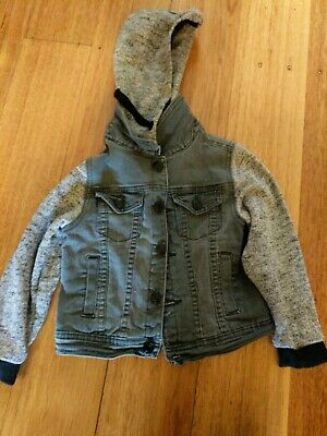Pumpkin Patch Jacket size 2 with removable hood