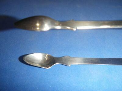 Vintage Antique Sterling Silver Sugar Tongs Circa 1815 Maker George Ferris