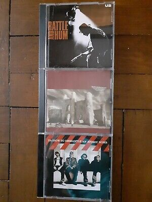 U2 Cd Job Lot - Rattle & Hum / The Unforgettable Fire & How To Dismantle..bundle
