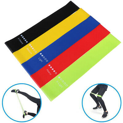 Resistance Bands Rubber Band Workout Fitness Equipment Yoga Training Bands P*SK