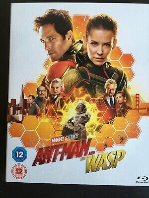 Ant-Man and the Wasp - UK Blu Ray Marvel extras slipcase