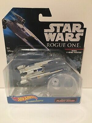 2016 Hot Wheels Starships REBEL U-WING FIGHTER Star Wars Rogue One MOC