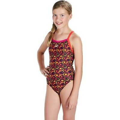 S2003476 142970 Maillot de bain Enfant Speedo Pattern Pop Allover Thinstrap Impr