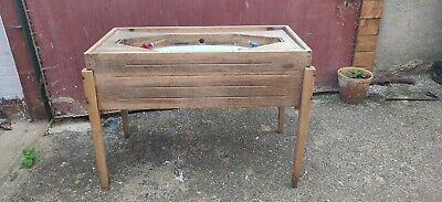 Antique Hockey Table Pub Game