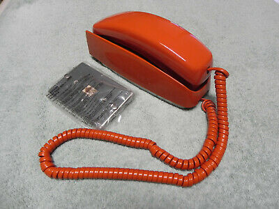 1982 Rust Western Electric Bell System Trimline TT  Wall Telephone Restored-Vtg