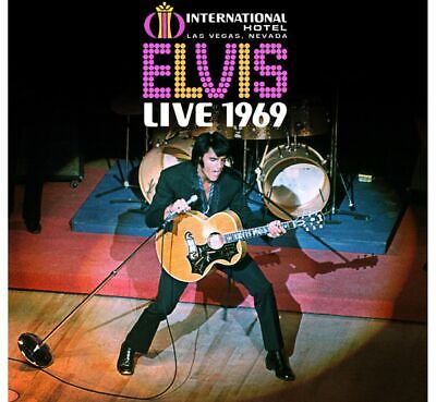 Elvis Presley Live 1969 Box  11Cds 52Page Book  Grandios Limited Fan Edition