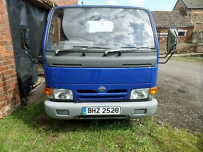 Nissan Cabstar Pick Up Large Coach Built Bed Not Tipper 2000 Model Low Miles