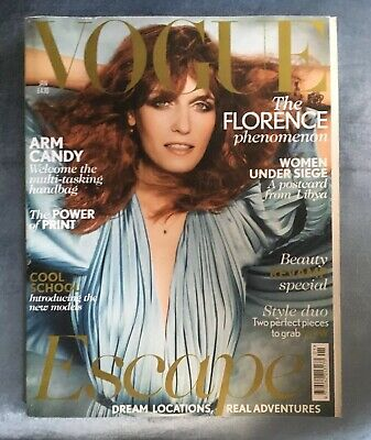 Vogue Jan 2012 Florence Welch Good Condition