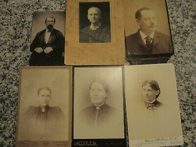 cabinet cards lot of 6