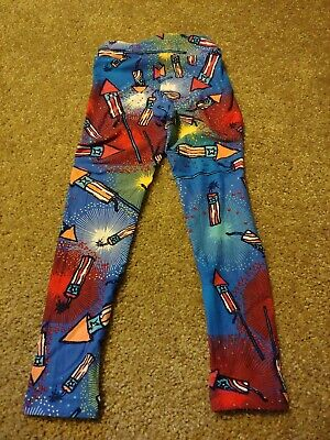 Lularoe Americana Kids S/M Leggings