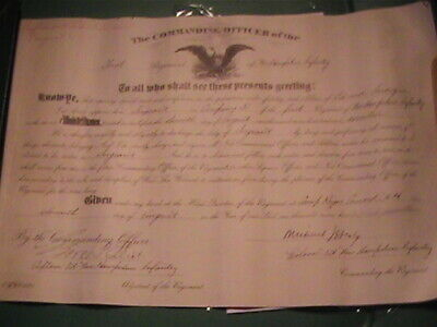 1917 New Hampshire National Guard promoted Edward Larocque to Sergeant Concord