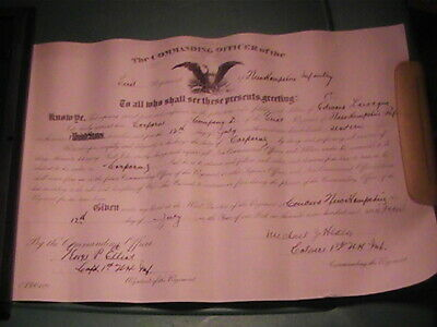 1916 New Hampshire CO.D.1ST Infantry Edward Larocque promoted to corporal docume